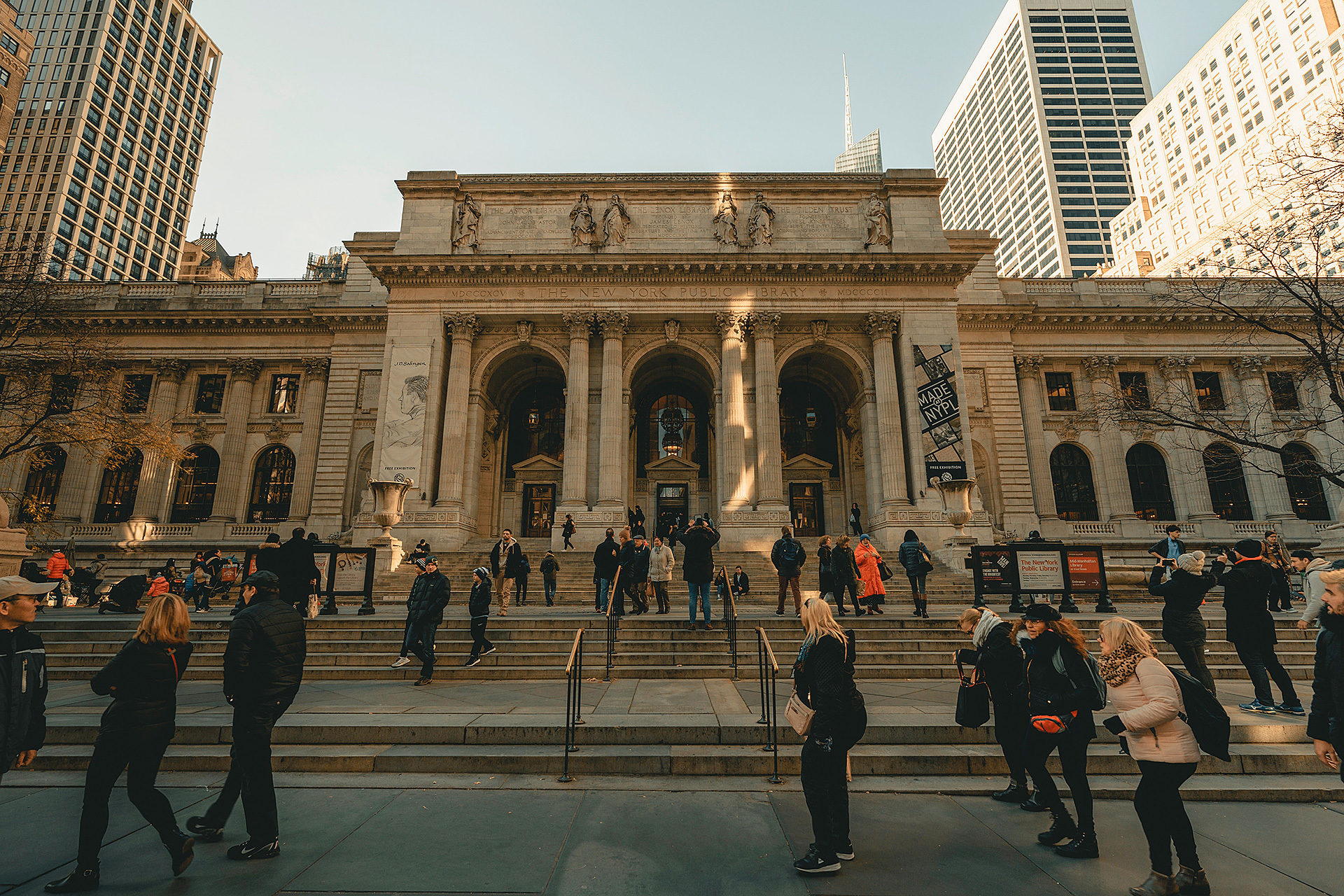 New york library front